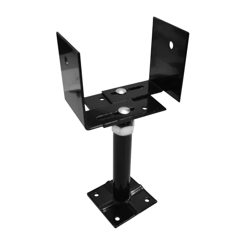 Adjustable Deck Support extensible 33-66 – Black