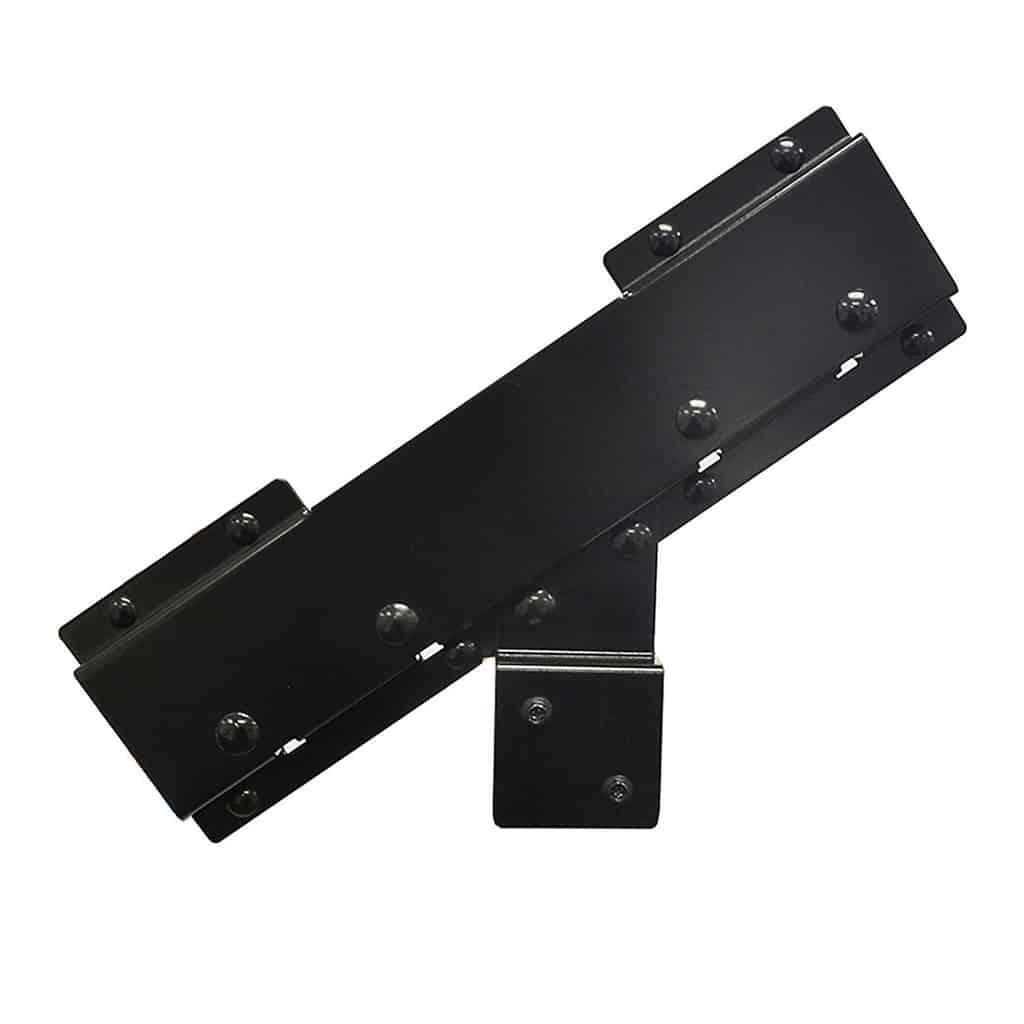 Steel stringer connector bracket