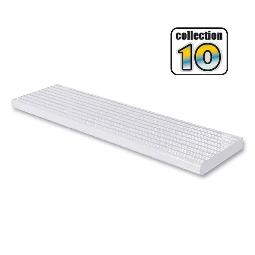 Aluminium stair treads 42″ White – COLLECTION 10