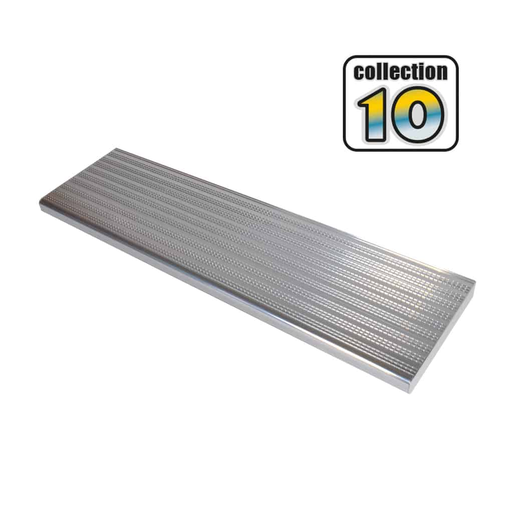 Aluminium stair treads 42″ anodized – COLLECTION 10