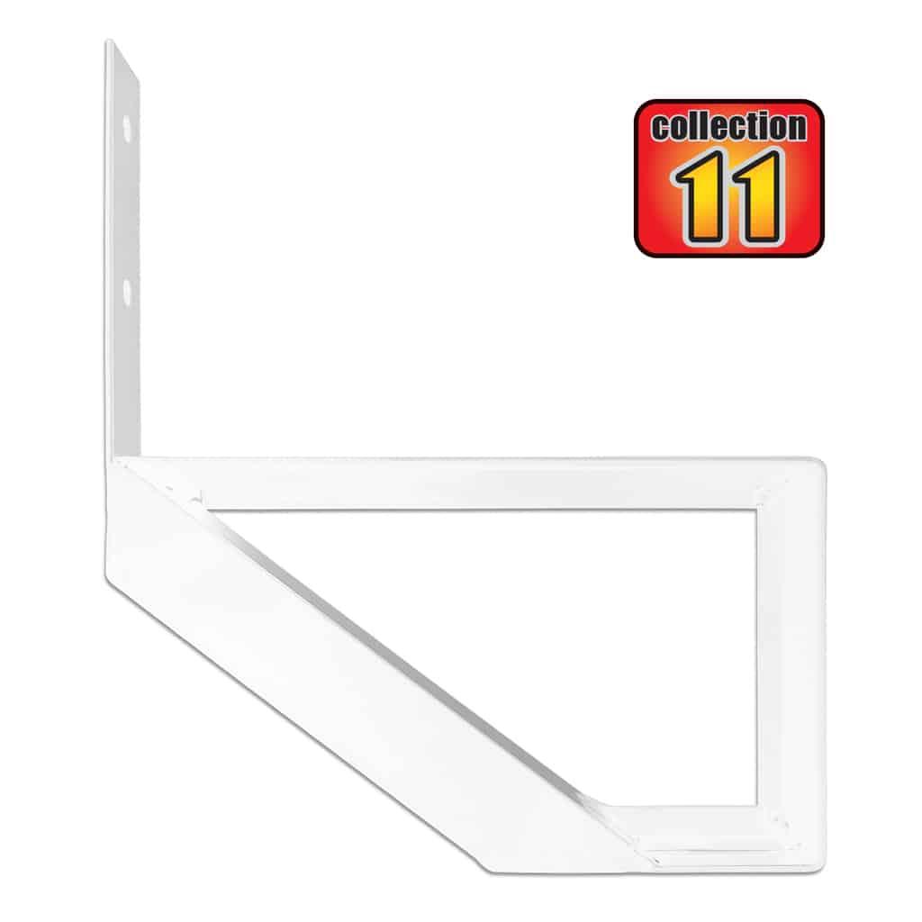 Aluminium Stair Riser 1 step-COLLECTION 11 (10 1/4″) – white