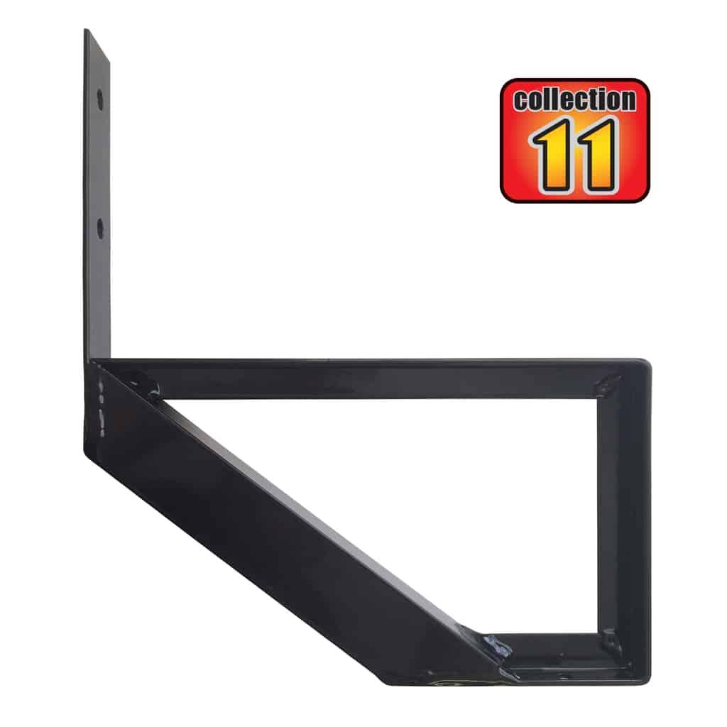Aluminium Stair Riser 1 step – COLLECTION 11 (10 1/4″) – Black