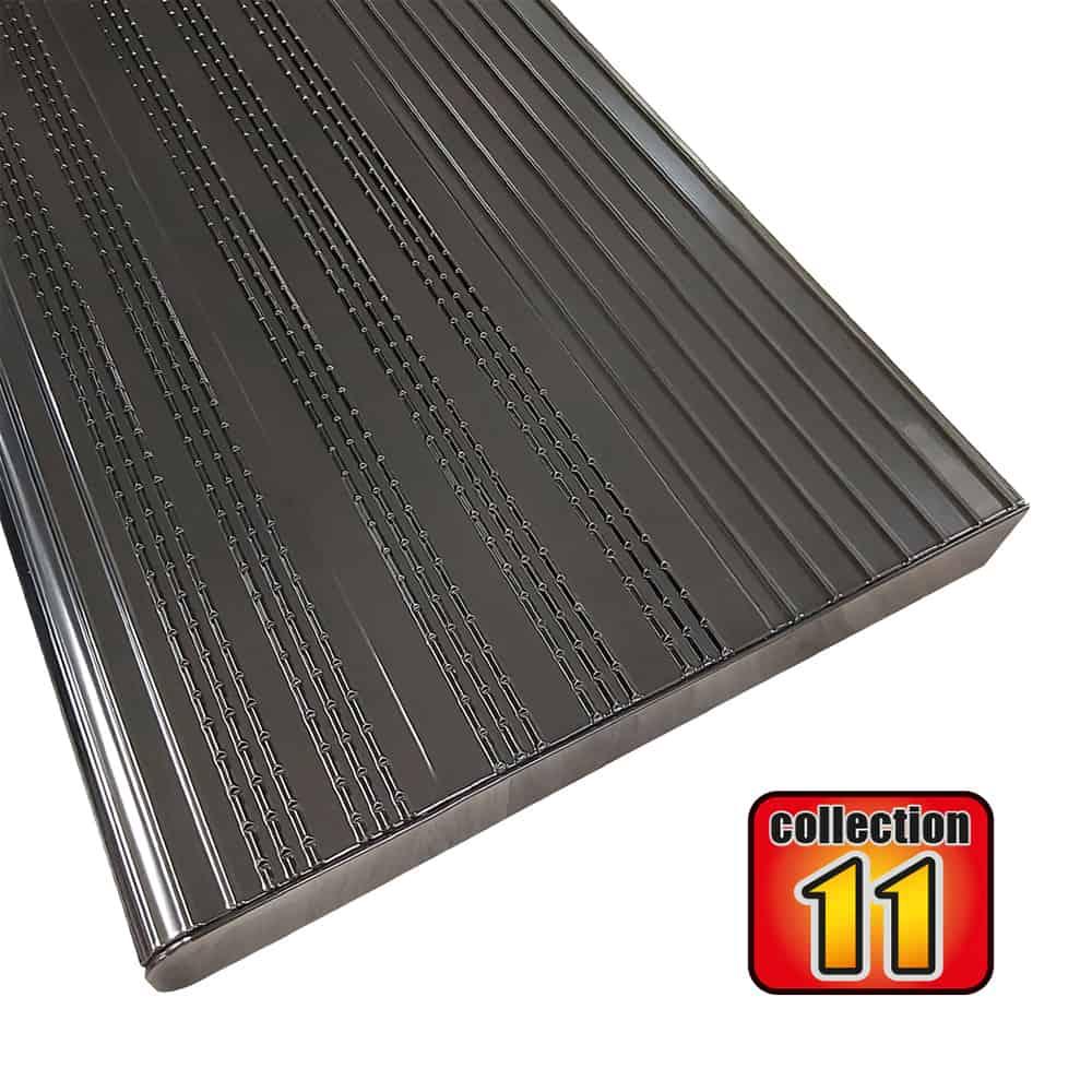Aluminium stair treads 60″ Black – COLLECTION 11