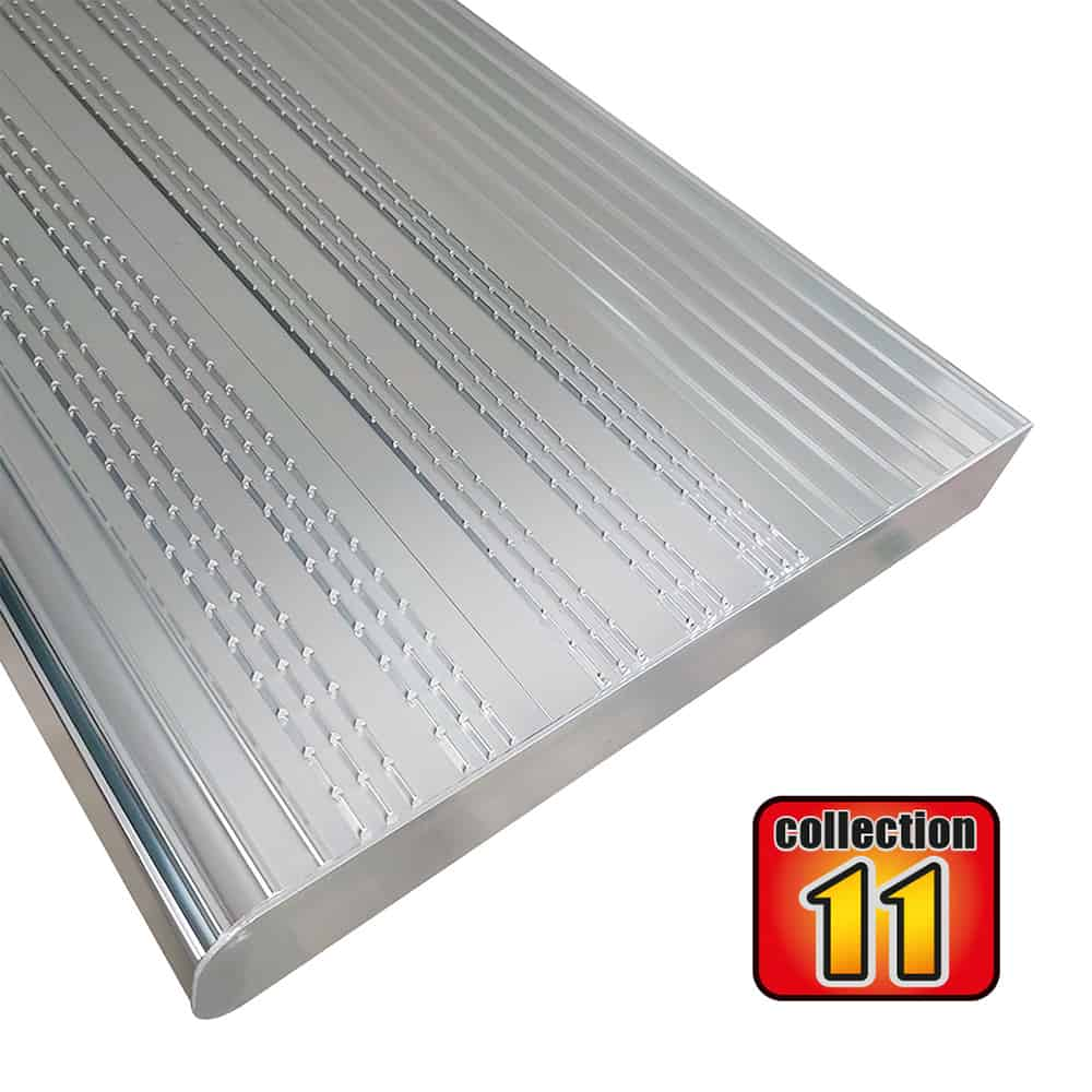 Aluminium stair treads 36″ anodized – COLLECTION 11
